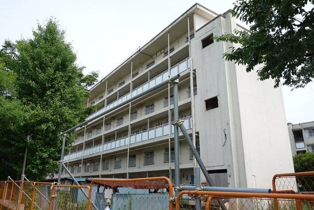 東京都営高砂アパートのメゾネット住棟
