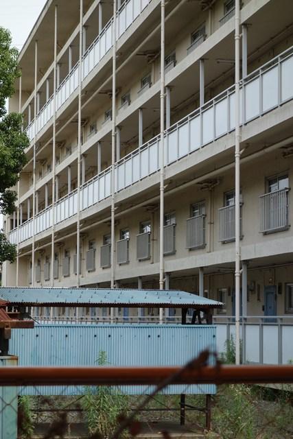 東京都営高砂アパートのメゾネット住棟その2