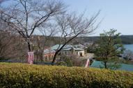 博物館明治村 「なごや駅」の桜はまだちょっと早い