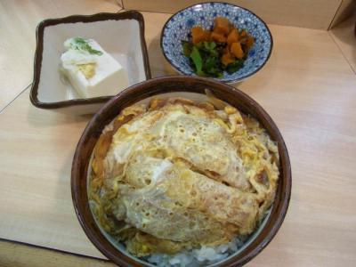 きしめん 川合(カツ丼セットのカツ丼)