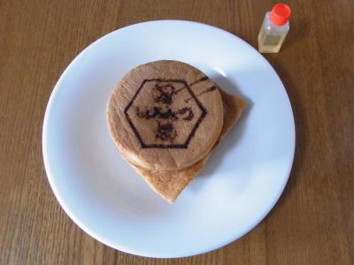 花めぐみ(はちみつ焼き(蜂蜜ボトル付き)各¥150)