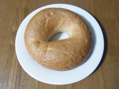 せたパン(ベーグル¥120)