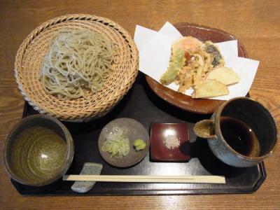 玄そば 東風(野菜天せいろ¥1200)