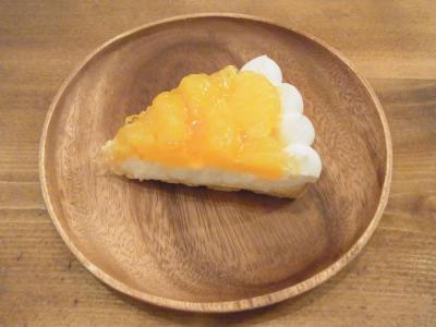 ヨウケル舎(季節のフルーツタルト(甘夏のタルト)¥500)
