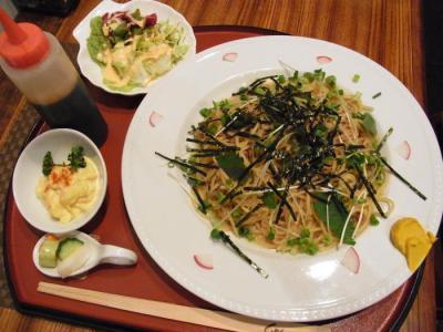 納豆ソース専門店 by456(納豆ソースのスパゲッティ¥900)