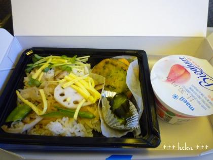 帰り金浦→羽田の機内食は、、、