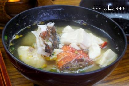 お魚の出汁いっぱいお味噌汁