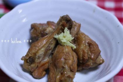 鶏手羽元の甘辛煮
