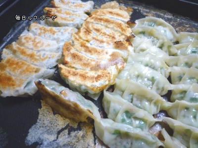 白菜と韮たっぷりの餃子