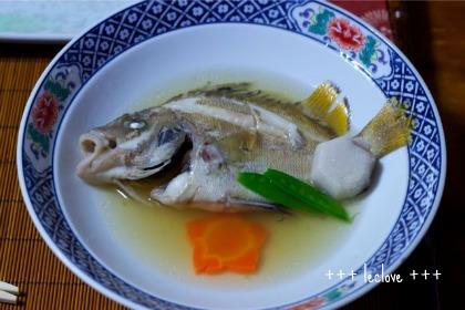 煮魚。超美味しかった~!