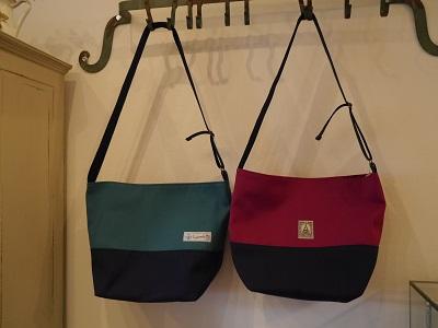 帆布斜め掛けバッグ 1
