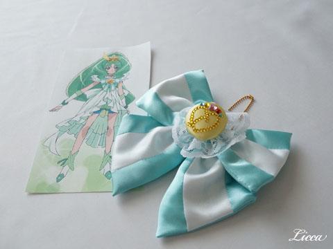プリンセスフォーム風バッグチャームキュアマーチ