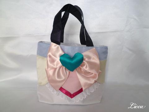 プリキュアスプラッシュスターイーグレット衣装風バッグ1