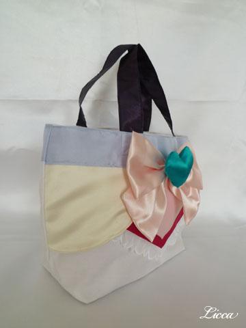 プリキュアスプラッシュスターイーグレット衣装風バッグ2