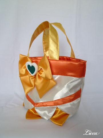 ハートキャッチプリキュアキュアサンシャイン衣装風バッグ2