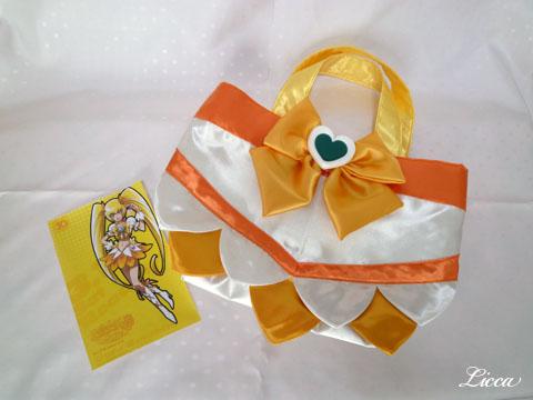 ハートキャッチプリキュアキュアサンシャイン衣装風バッグ5