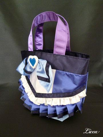 スイートプリキュアキュアビート衣装風バッグ2