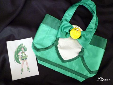 スマイルプリキュアキュアマーチ衣装風バッグ1