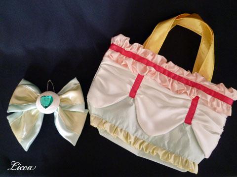 キュアエコー衣装風バッグ2