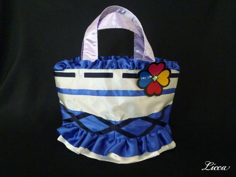 フレッシュプリキュアキュアベリー衣装風バッグ1