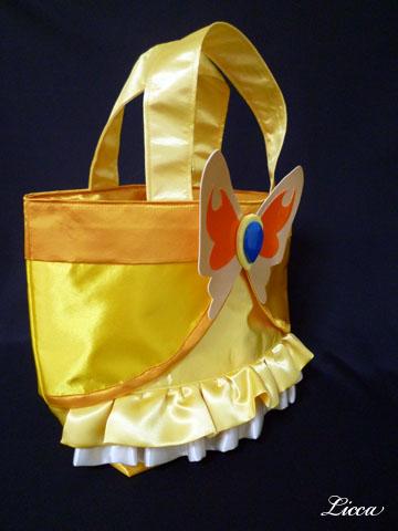 Yes!プリキュア5gogoキュアレモネード衣装風バッグ3