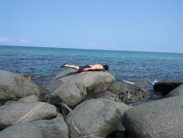 海でシャチホコ