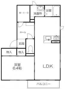 シャーメゾン楽音寺(1LDK)