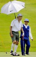 石井民主副代表ゴルフ