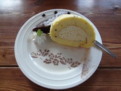 ベーグルランチのデザート