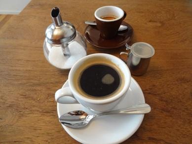 コーヒーとエスプレッソ