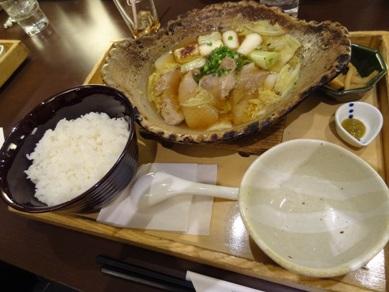 醤油麹漬けまぐろ鍋定食
