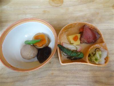 前菜と煮椀