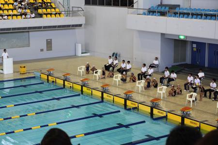 なつ水泳記録会