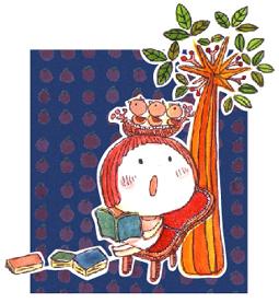 りんごと小鳥と読書