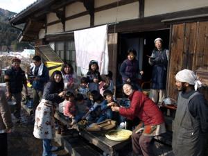 お醤油しぼりワークショップ2012