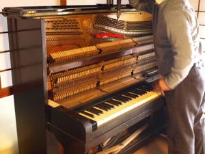 piano 調律中
