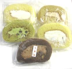 ロールケーキ5種