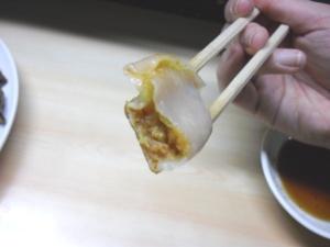 餃子の中身(赤)