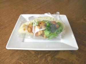 カレー豆サンド