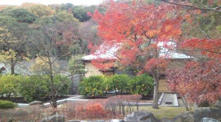 二の丸史跡庭園内