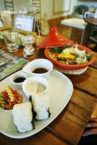 タジン鍋蒸し野菜