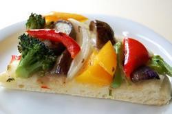 w 夏野菜のフォカッチャ