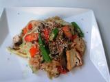玄米野菜チャーハン