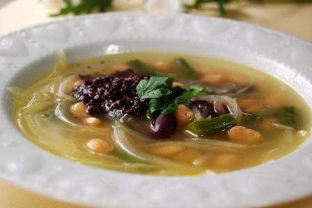 豆スープタパネード
