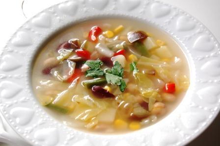 ありあわせ野菜スープw