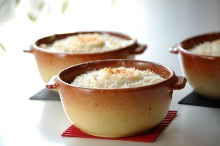 卵グラタン米粉ソースw
