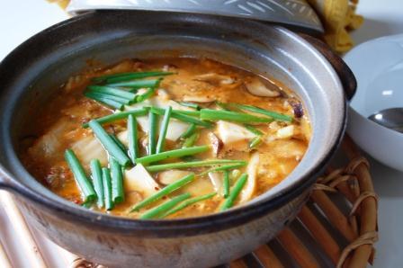 ズンドゥブ納豆チゲw