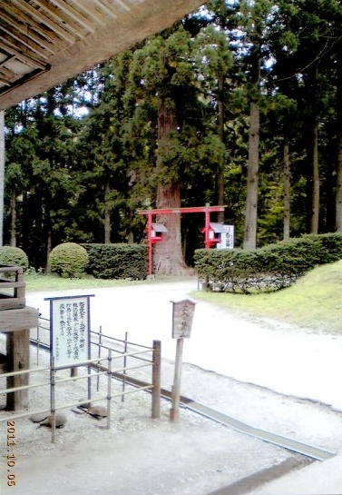 中尊寺内の白山神社_02