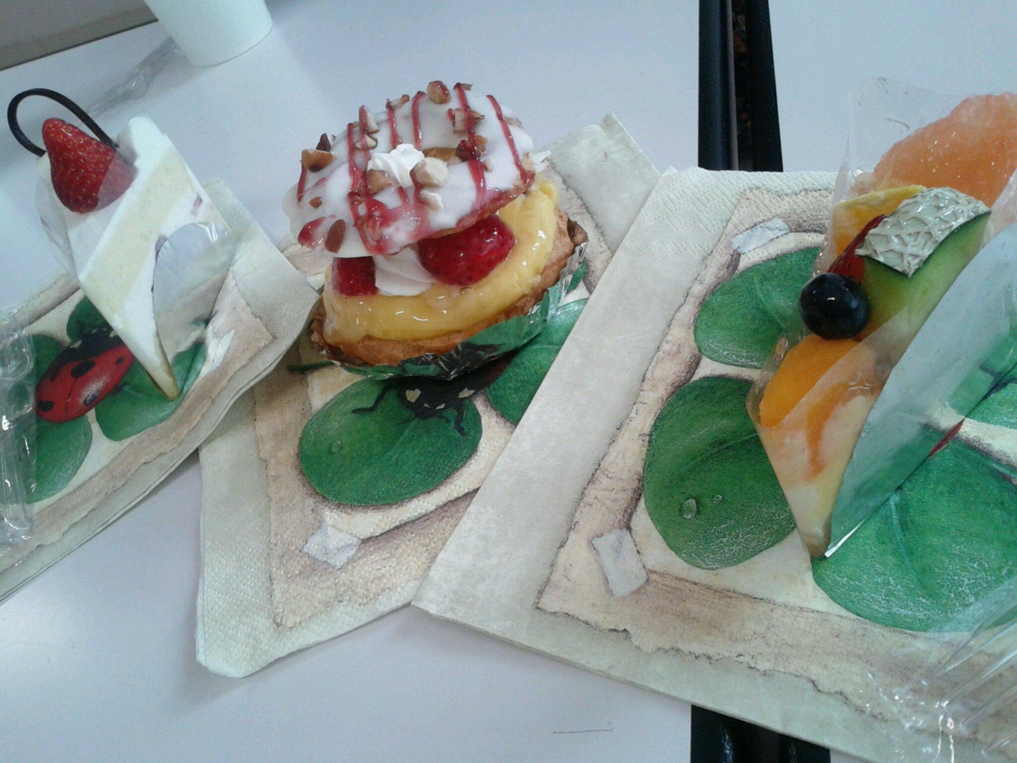 ザ・ダージリンのケーキ3種