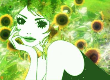 向日葵の女
